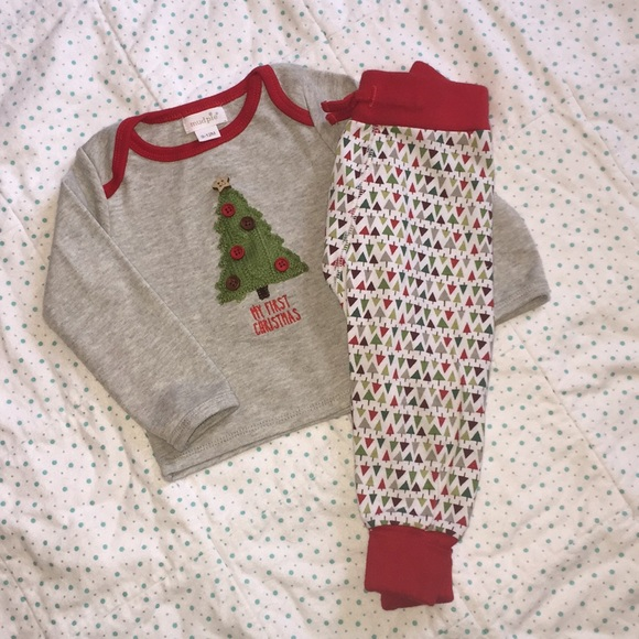mud pie my first christmas pjs